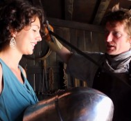 Inside tour guide to King John's Castle, Limerick, Ireland: Swords, Battles, Feisty Women