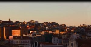 Lisbon winter sun